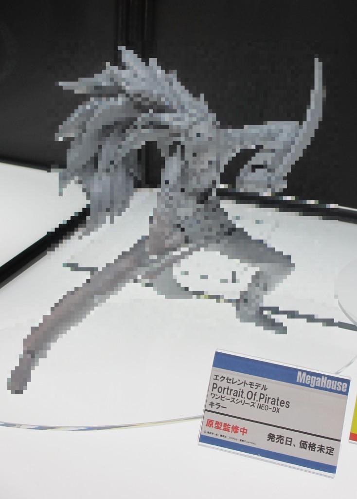 【画像レポ:メガホビEXPO 2012 SPRING】P.O.P新作 NEO-DX キラー(発売日/価格未定:未着色展示)
