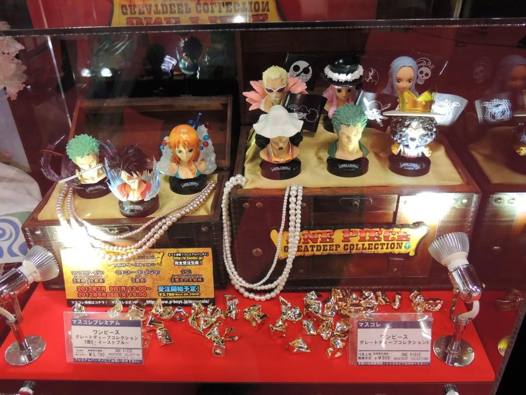【画像レポ:東京おもちゃショー2012】ワンピースフィギュア マスコレ新作情報 グレートディープコレクション6/5億B・イーストブルー