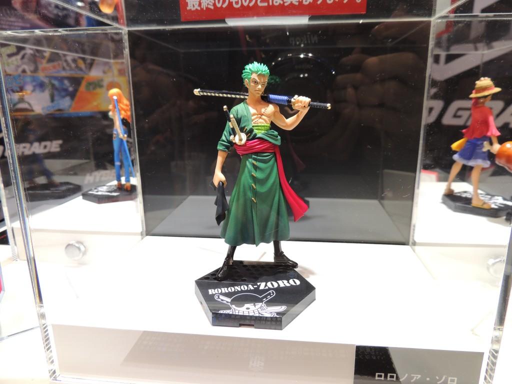 【画像レポート:東京おもちゃショー2012】HYBRID GRADE ワンピース ゾロ バンダイ