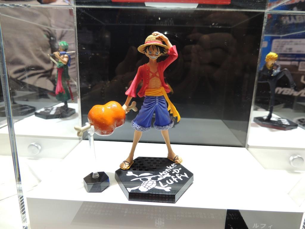 【画像レポート:東京おもちゃショー2012】HYBRID GRADE ワンピース ルフィ バンダイ