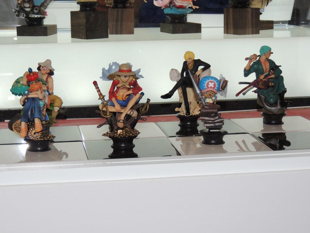 【画像レポ:東京おもちゃショー2012】ハピネットブース チェスピースコレクションR ワンピース