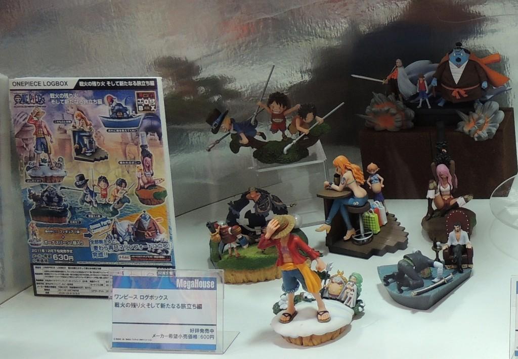 【画像レポ:東京おもちゃショー2012】メガハウスブース ワンピース ログボックス 戦火の残り火そして新たなる旅立ち編