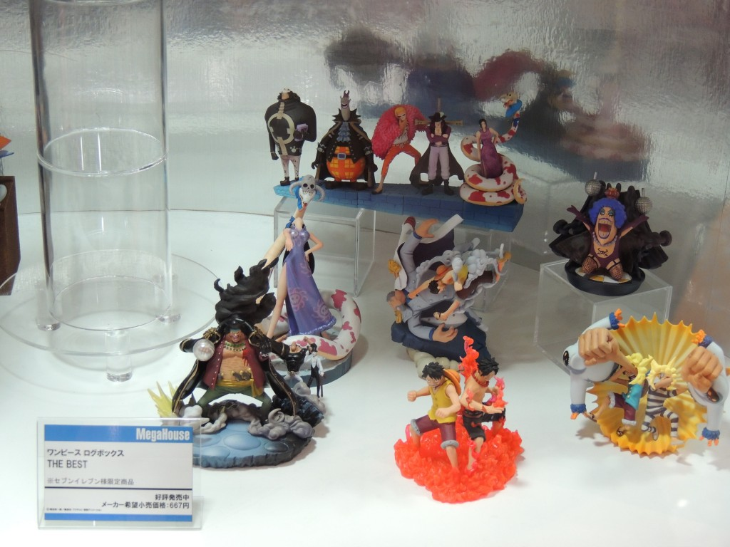 【画像レポ:東京おもちゃショー2012】メガハウスブース ONE PIECE LOGBOX THE BEST セブンイレブン限定