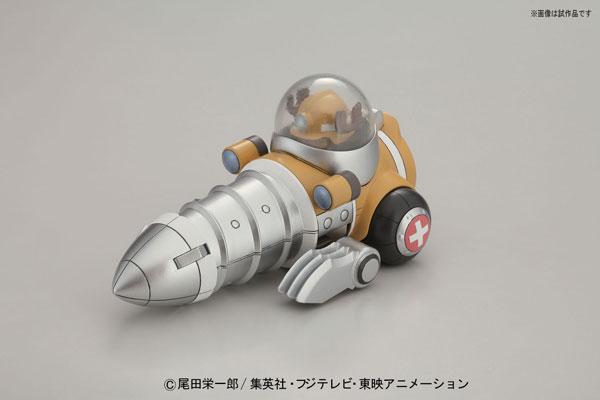 ワンピース チョッパーロボ4号 チョッパードリル プラモデル[バンダイ] http://www.amiami.jp/top/detail/detail?gcode=FIGURE-004676