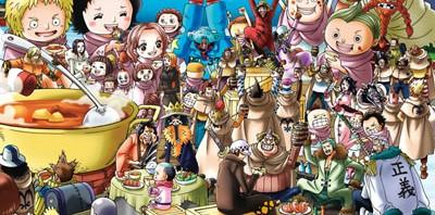 ジグソーパズル ワンピース いただきそうろう~っ!!!108/1000ピース予約開始! #onepiece #wj