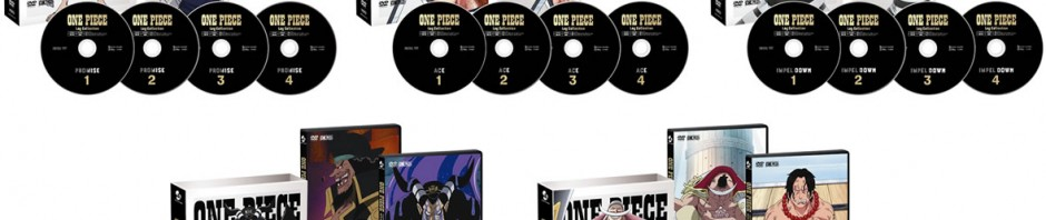 """DVD「Log Collection新作 """"IMPEL DOWN""""/ """"MAGELLAN""""/ """"MARINEFORD""""/ """"ACE""""/ """"PROMISE""""」、予約開始! #onepiece"""