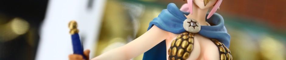フィギュアーツZERO 剣闘士レベッカ&バルトロメオ 画像レポート #魂の夏コレ #onepiece