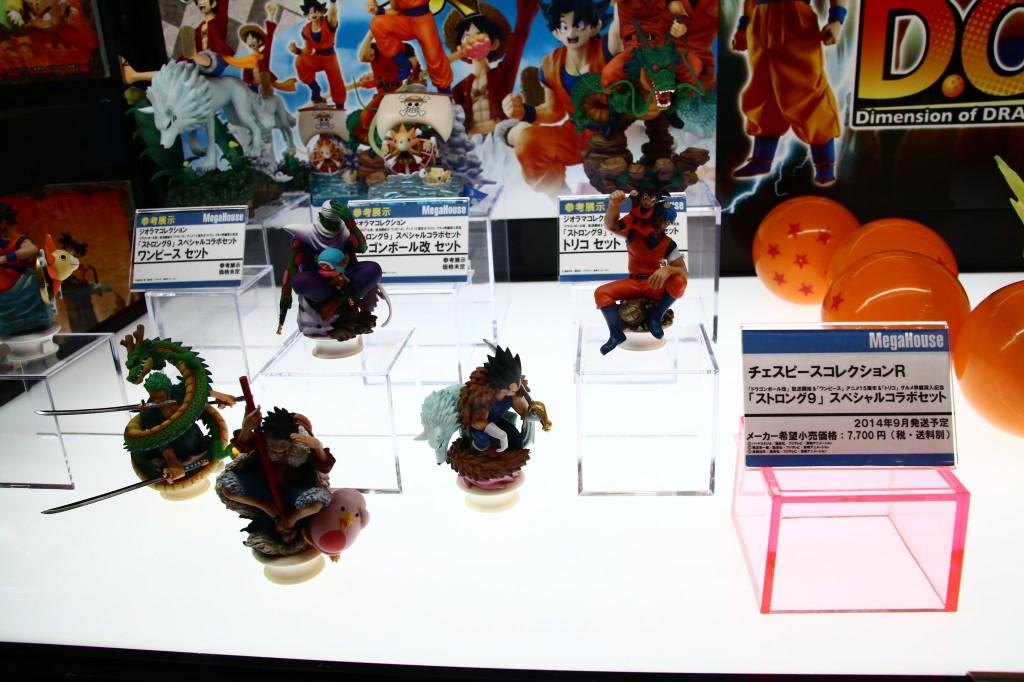 チェスピースコレクションR 「ストロング9」スペシャルコラボセット メガホビEXPO2014 Spring フィギュア新作画像レポート